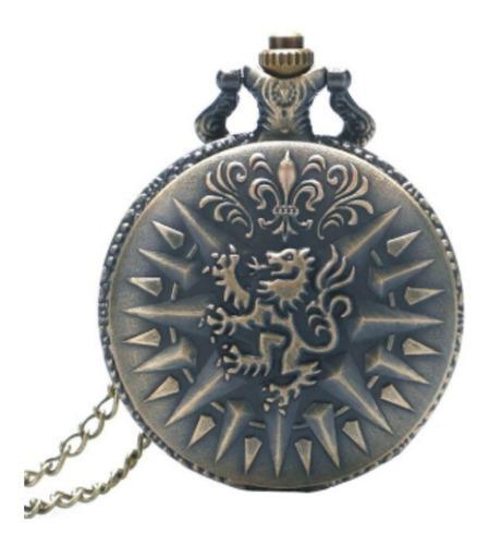Reloj De Bolsillo Tipo Vintage, Game Of Thrones