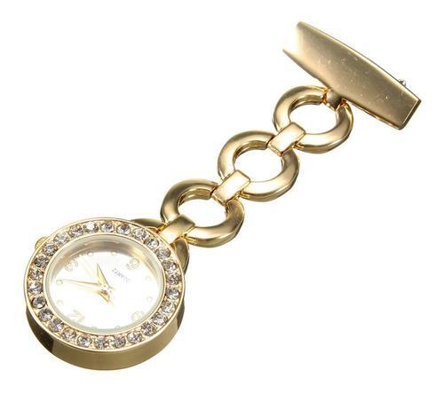 Reloj Enfermera De Lujo !! Reloj-enferm/metal