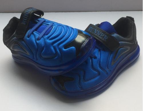 Zapato Tennis Deportivo Para Niños Con Luces Led