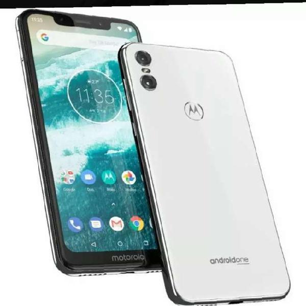 Celular Libre Motorola One 5,9 32gb 13mpx 8mpx 4g 4ram