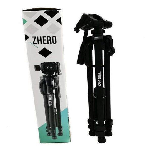 Trípode Soporte Para Cámara Zhero Z-3520 Altura 140cm