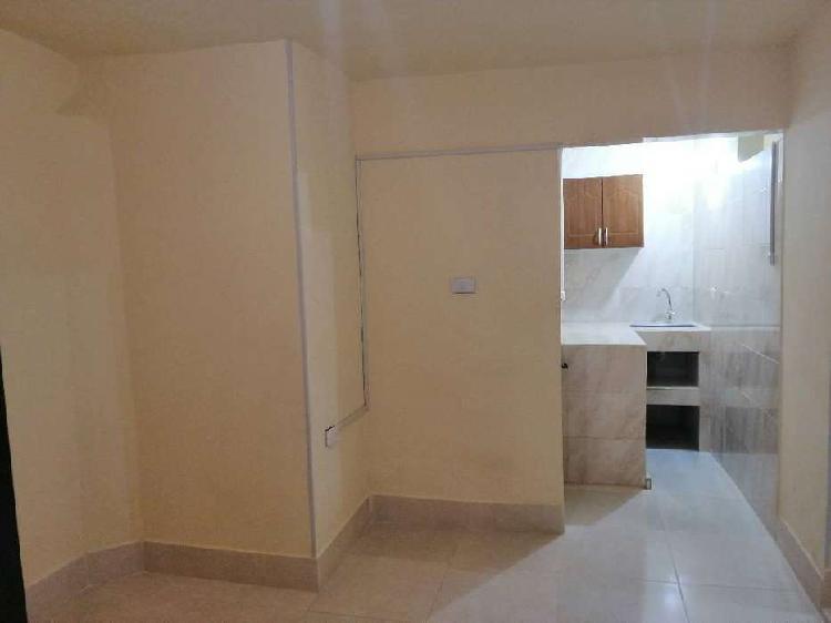 Apartamento con servicios incluidos en el barrio Las Ceibas,