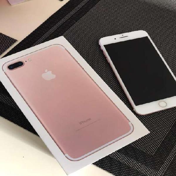 Apple Iphone 7 Plus De 32 Gb Rosa Perfecto Estado Con Caja