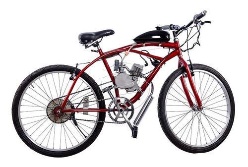 Bicicleta Con Motor 2 Tiempos 80cc Nueva Generación