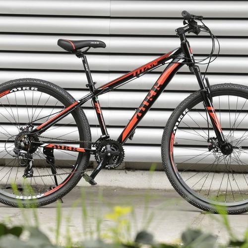 Bicicleta Mrr Titan En Aluminio Rin 29 Freno Disco Mecanico