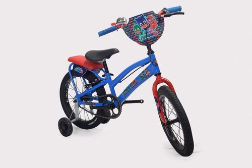 Bicicleta Niño O Niña Paw Patrol Pj Mask Batman 3 A 6