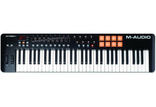 Controlador M Audio Oxygen 61 Mk4 +pedal Alesis Asp2 Sustain