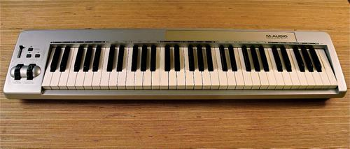 Controlador Usb M Audio Keystation 61 Es