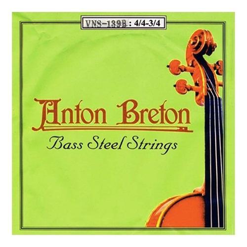 Encordado Contrabajo 1/2 Anton Breton Vns-139b