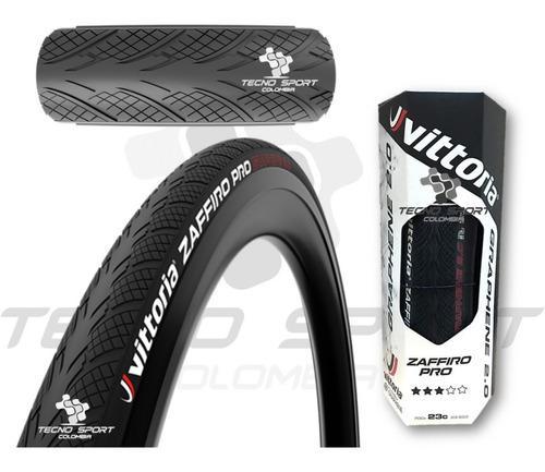 Llanta Vittoria 700 X 23 Zaffiro Pro Grafeno Bicicleta Ruta