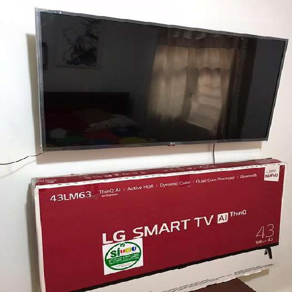 Se vende tv lg, 43 pulgadad, smart tv Ai ThinQ
