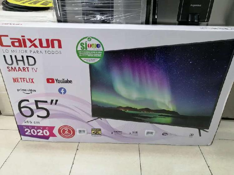 TV 65 pulgadas nuevo 4k smart