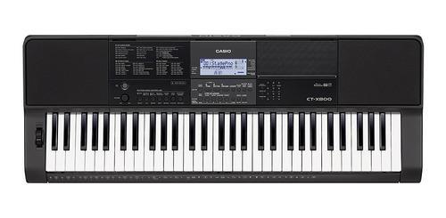 Teclado Con Sensibilidad Casio Ct-x800 + Adaptador