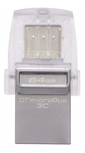 Unidad Flash Digital De Gb Data Traveler Micro Duo Usb...