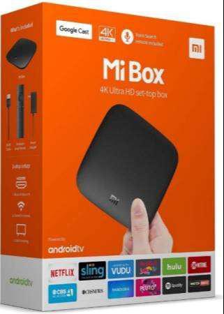Xiaomi Mi Box S 8GB ANDROID CONVERTIDOR SMART TV