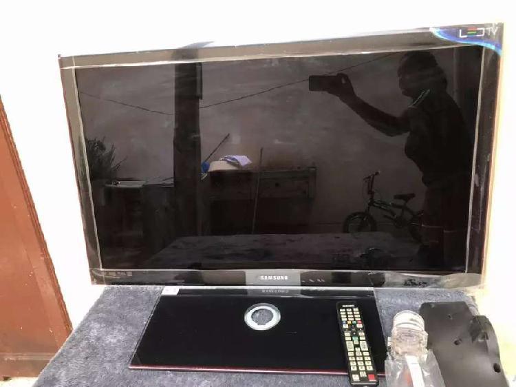 Como nuevo televisor led de 49 pulgadas pantalla estés