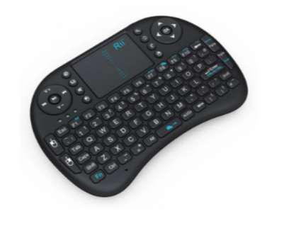Control Remoto Mouse Teclado Inalámbrico Portátil Tv Box