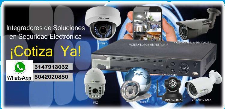 INSTALACIÓN DE CÁMARAS DE CCTV
