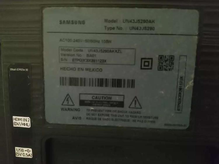 Televisor Samsung 43¨full Hd Smart Tv Un43j5290ak (para