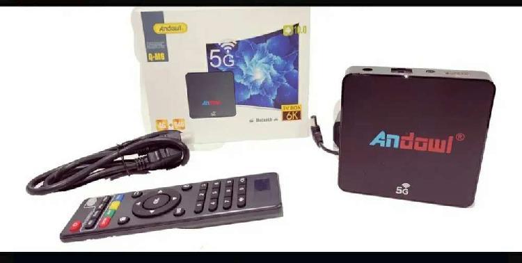 Tv Box 6k 5g Ultra Hd Smart Tv Android 10 4 Gb Ram 64gb Rom