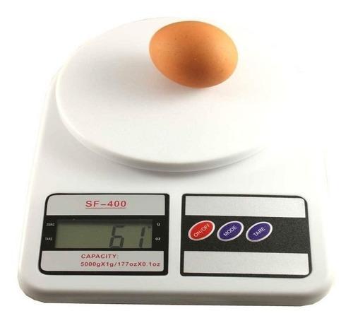 Balanza Gramera Báscula Digital Cocina Capacidad Hasta 10kg
