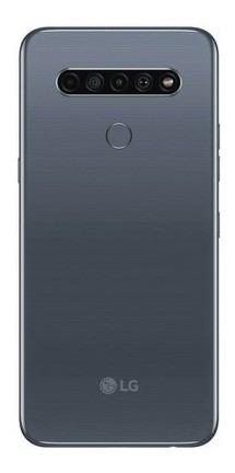 Celular LG K61 - 128gb Gris Mediatek Celular LG K61 - Lk102