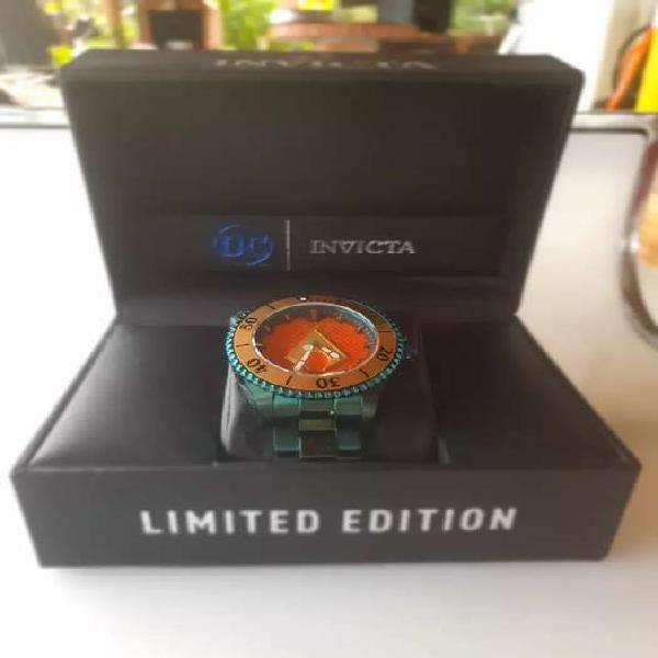 Reloj Invicta DC Comics Edición especial.