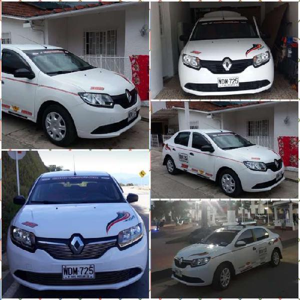 Se vende Renault Logan 2017 Full equipo Servicio Publico