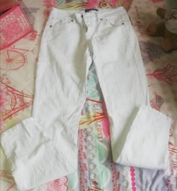 Pantalon blanco talla 8