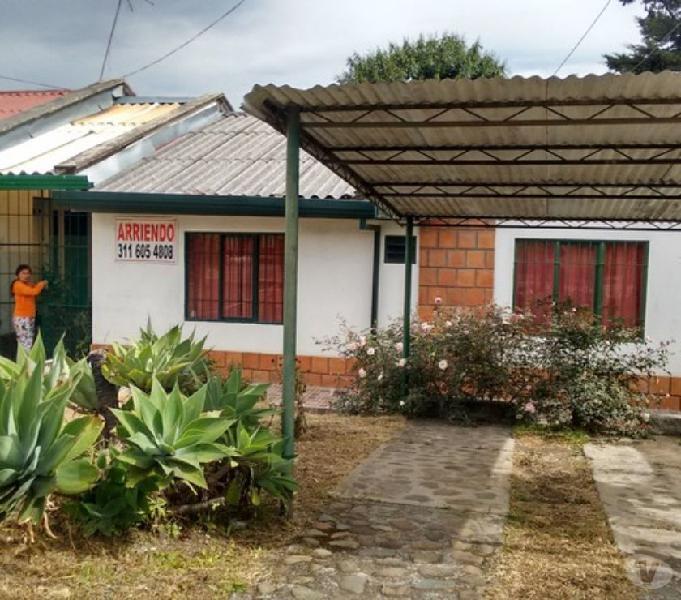 vendo casa popayan rincon de la aldea de 3 alcobas 2 baños,