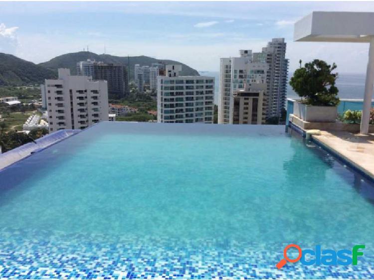Apartamento con vista al mar Rodadero Sur Santa Marta 000