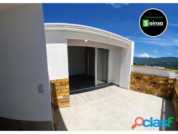 Hermos apartamento más terraza en San Gil Santander
