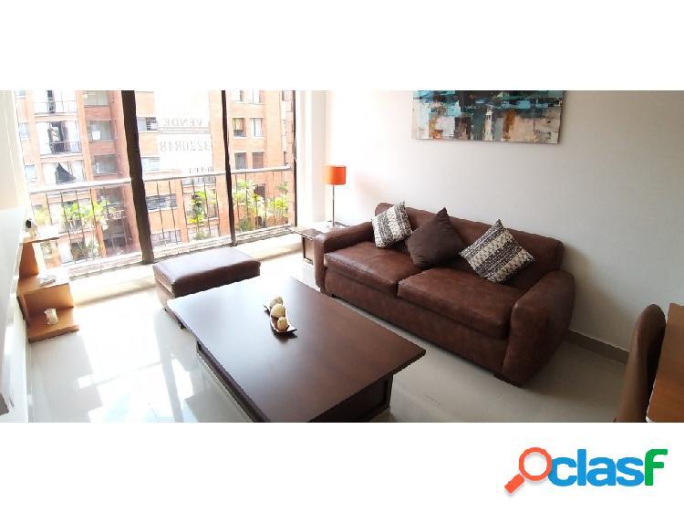 Se vende apartamento en Belen Malibú - Amoblado