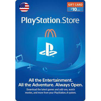 PLAYSTATION NETWORK Gift CARD USD $10 Recarga de de Cuenta