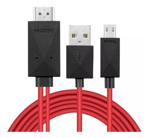Cable Hdmi Mhl Para Celular Tipo Micro Usb O V8