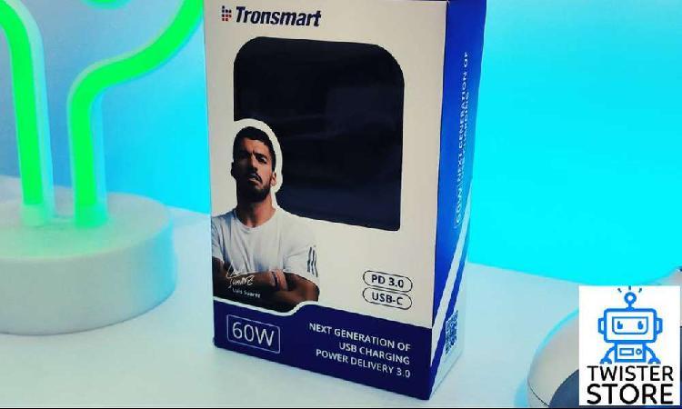 Cargador Tronsmart 60W + cable USB tipo C