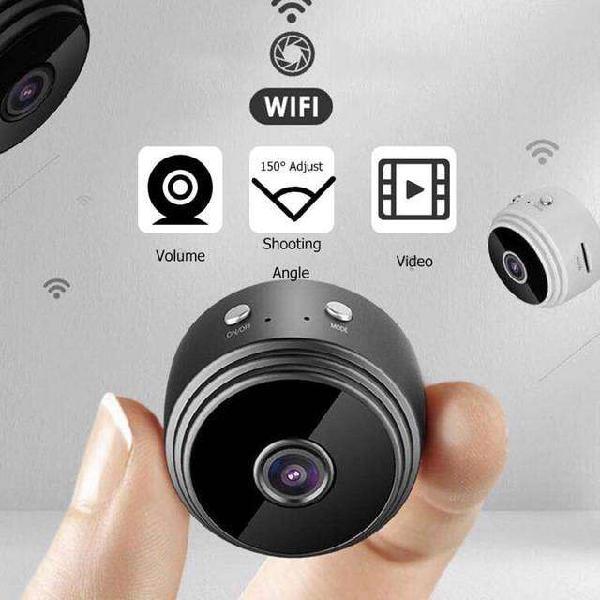 Mini Camara A9 + Sd 32 Gb Inalámbrica Wifi Ip Hd 1080