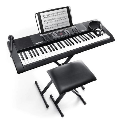 Piano Teclado Alesis Harmony 61 Mkii Audifonos Microfono
