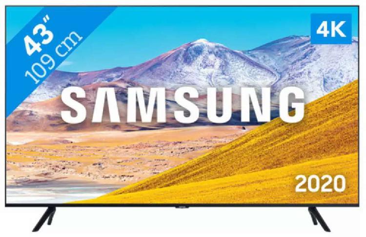 "TV SAMSUNG 43""TU8000 Crystal 4K UHD Smart Tv (2020) ¡ Nuevo"