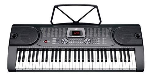 Teclado Organeta Mk2089 Under 61 Teclas Microfono Adaptador