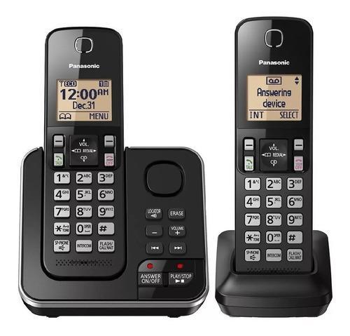 Teléfono Inalámbrico Panasonic Kx-tgc362 - Duo Negro