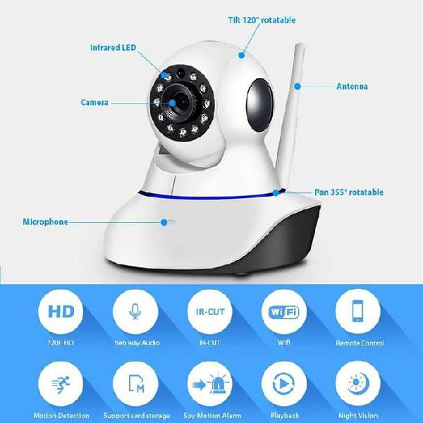 Buscas tranquilidad!!! Cámara de seguridad IP Robotica