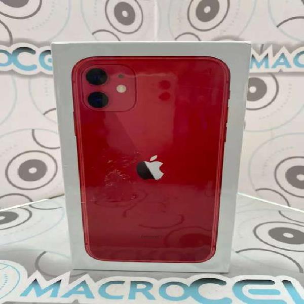 Vencambio iPhone 11 64gb color Rojo, NUEVO CAJA SELLADA