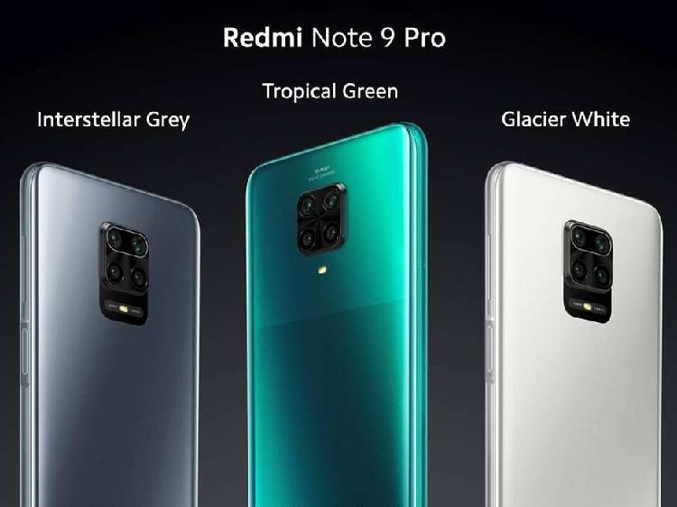 Xiaomi Redmi Note 9 Pro 128GB / 6GB RAM Nuevos Sellados