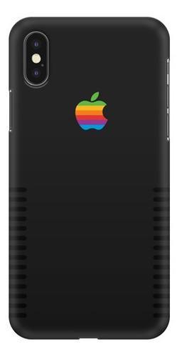 Case - iPhone Edicion Retro Negro - Carcasas Para Celular -