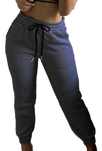 Jogger Mujer Pantalón Sudadera Deportivo 7/8