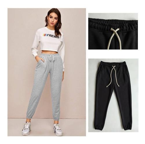 Pantalón Sudadera Jogger Mujer (100% Calidad) Promocion