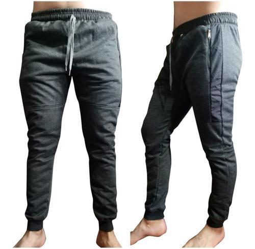 Pantalón Sudadera Tipo Jogger Lineas