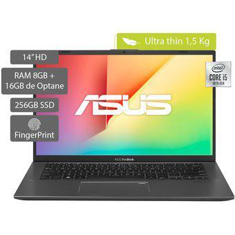 Portátil Asus VivoBook 14 pulgadas Intel Core i5 8GB 256GB