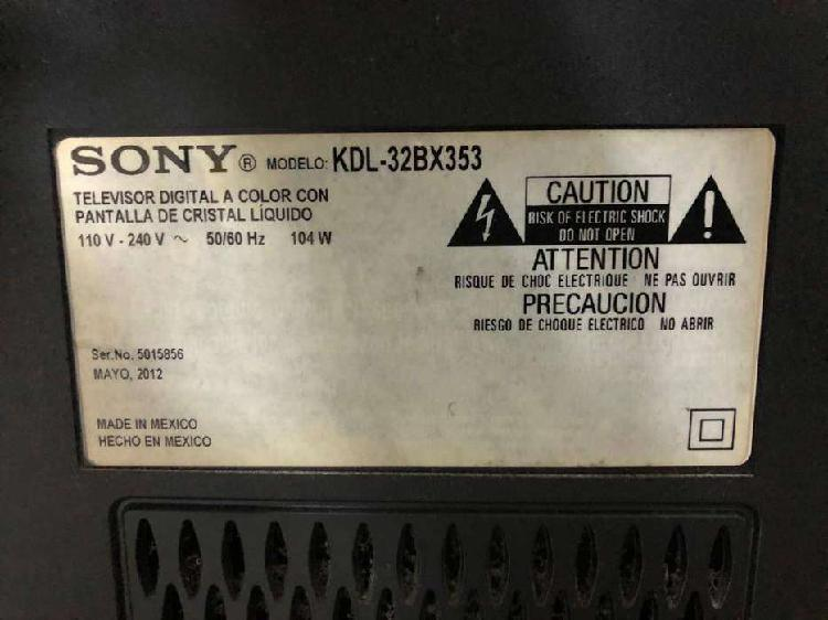 Televisor Sony Bravia para repuestos